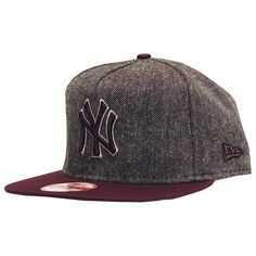 New Era cap tweed snapback New York Yankee tweed maroon 37€ #newera #snapback #caps #hats #casquette #cap #hat #ny #newyork #skateshop