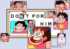 do it for him Steven universe wallpaper
