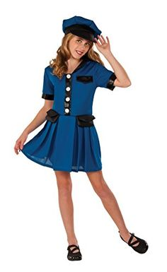 Rubies Costume Blue Police Chief Deluxe Child Costume Small ** Find out more about the  sc 1 st  Pinterest & Rubies Costume Monster High Clawdeen Wolf Photo Real Costume Top ...