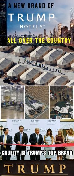 """It is fair to call the Trump Administration US's migrant child detention centers """"concentration camps"""" such acts of cruelty have no other name"""