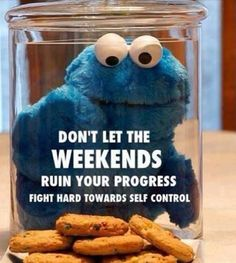 Don't let weekends ruin your progress!