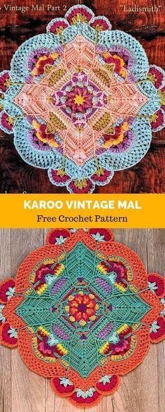 Transcendent Crochet a Solid Granny Square Ideas. Inconceivable Crochet a Solid Granny Square Ideas. Crochet Mandala Pattern, Granny Square Crochet Pattern, Crochet Stitches Patterns, Crochet Squares, Crochet Granny, Knitting Patterns, Granny Squares, Crochet Afghans, Crochet Blankets