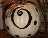 "O My Pumpkin Monogram SMALL (5"") on Etsy. , via Etsy."