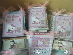 Hello Kitty Mini Calendar and Notepads