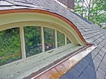 Metal roof dormer window curved google search house for Prefab eyebrow dormer