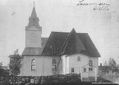 Lavansaaren kirkko 1920-luku Finland, Cathedral, Lost, Building, Travel, Viajes, Buildings, Cathedrals, Destinations
