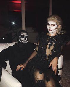 Imagen de tyga, kylie jenner, and Halloween
