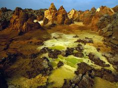 Ethiopia - volcano crater....would love to see this in person!