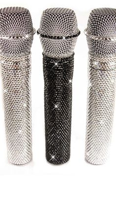 Crystal Microphone Covers Made With Swarovski Elements | Gallery | CrystalSkins.co.uk