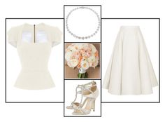 """""""Outfit # 3228"""" by miriam83 ❤ liked on Polyvore featuring Van Cleef & Arpels, Jimmy Choo, Roland Mouret and Roksanda"""