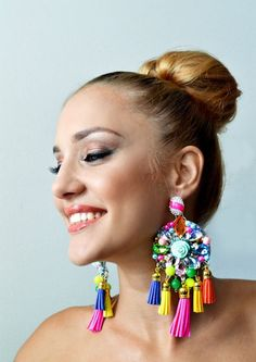 Want these colorful earings