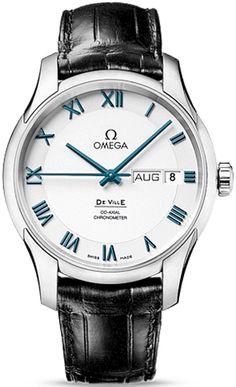 0320a267d75 Omega DeVille Annual Calendar 431.93.41.22.04.001 Omega Co Axial