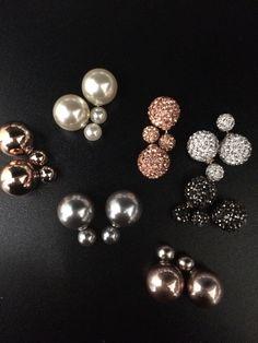 double dots earrings