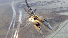 Fond d'écran hd : f18 avion de combat