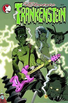 | Electric Frankenstein -: AveComics