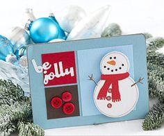 Cute #snowman card