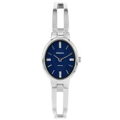 Dames horloge PRISMA PURIFY OVAL DIAMOND BLUE Prisma ladies watch Details: Model – P.1683 Sexe – Lady Movement – Miyota GL20 Case size – 22 mm Case thickness – 6 mm Band – 11 mm Water resist – 50 meter Material – Titanium, sapphire glass