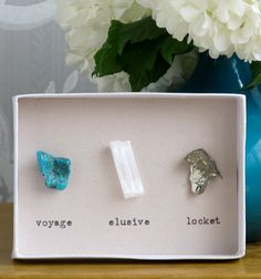 My husband has a rock collection that I've been wondering how to display. Great idea! #walldecor