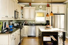 Traditional Kitchen - Infill Home in Historical District by Jeffrey Design #tdnchannels