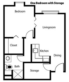 Floor Plans For Studio Apartments studio-apartment-plan-and-layout-design-with-storage  | floor