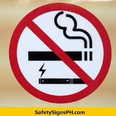 No Smoking Prohibition Sign Philippines Philippines, Smoking, Safety, Signs, Security Guard, Shop Signs, Tobacco Smoking, Vaping, Sign