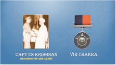 01 Sep 65.Capt Krishnan flew over en area to loc hostile arty guns engaged & silenced them.Awarded #http://VirChakra.pic.twitter.com/TyA7M2R5n2 #IndianArmy #Army