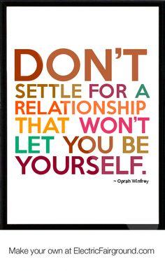 Oprah Winfrey Framed Quote