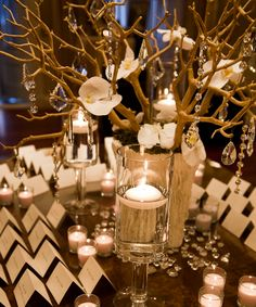 Wedding Ideas: Put Your Guests in Their Place with the Perfect Place Card Table - MODwedding