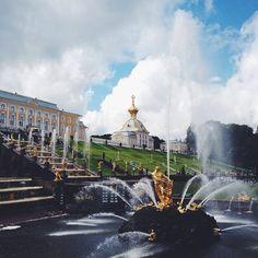 Dagens utflykt - Peterhof. #spb