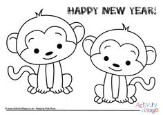 96 best chinese new year for kids images on pinterest monkeys