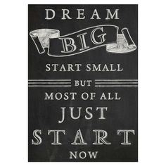 Dream Big Vintage Canvas Wall Art by The Power Of Words on Words Quotes, Wise Words, Me Quotes, Motivational Quotes, Inspirational Quotes, Qoutes, Art Sayings, Sweet Sayings, Famous Quotes