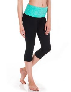 Cotton Yoga Capris Photo Album - Reikian