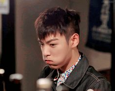 When someone interrupts the drama ♚ #BIGBANG #TOP