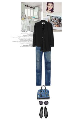 """""""Things I love..."""" by thehamptonsgirl ❤ liked on Polyvore featuring AMO, Maison Margiela and Wildfox"""
