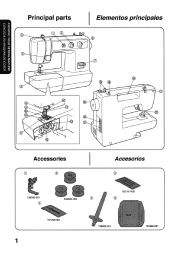 brother international vx 1120 users manual english page 45 rh pinterest com brother sewing machine guide brother sewing machine operation manual