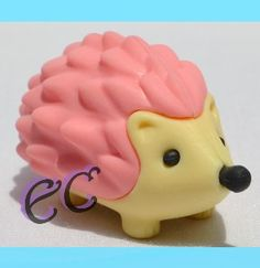 #erasercrazy #Iwako #HEDGEHOG Pink Animal Japanese Eraser