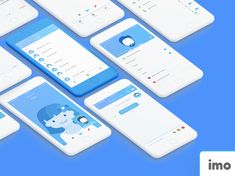 """Check out this @Behance project: """"imo App Redesgin"""" https://www.behance.net/gallery/54116157/imo-App-Redesgin"""