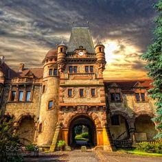Veltheimsburg by HolgerSchwarz Travel Destinations, Beautiful Places, Creativity, Mansions, House Styles, Home Decor, Places, Nice Asses, Road Trip Destinations