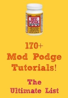 Ultimate mod lodge tutorials by Carol Browning