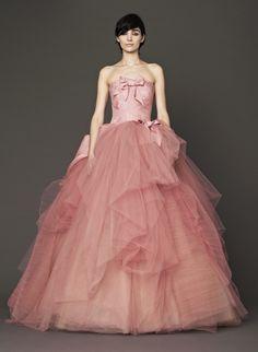 Junebug's Wedding Dress Gallery: Vera Wang Wedding Dresses from the Fall 2014 Bridal Collection | via junebugweddings.com