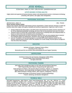 business analyst resume sample httpjobresumesamplecom1732business - Sample Business Analyst Resume