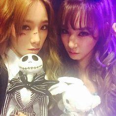 Taeyeon,Tiffany