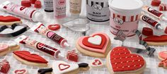 Use candy writers to make all your favorite Valentine goodies! Great for cookies, cake pops, cupcakes and more!