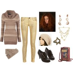 """Evelyn Rainier"" by mara-nokomis on Polyvore"