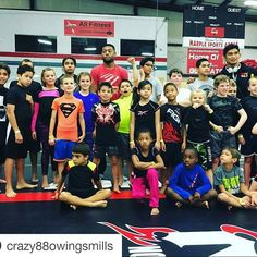 #Repost @crazy88owingsmills with @repostapp ・・・ @crazy88mma and @crazy88owingsmills kids ready to work at NAGA with coaches @stunnabjj , @aunglansang and @grifinn_ #naga #grappling #nogi #bjj #JiuJitsu