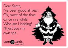 Dear Santa #ecards