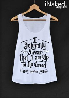 I Solemnly Swear that I am Up To No Good Shirt by iNakedapparel, $14.99