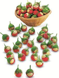 Cream filled Strawberry by Caffarel