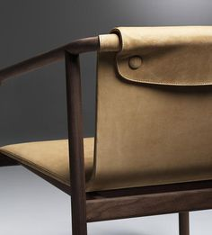 1 | A Slender Armchair That's Part Nordic, Part American | Co.Design | business + design