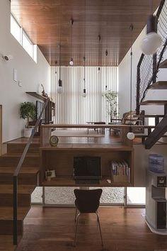 Cafe Interior, Interior And Exterior, Interior Design, Japanese House, Bathroom Styling, Modern House Design, Custom Homes, Farmhouse Style, Home Office